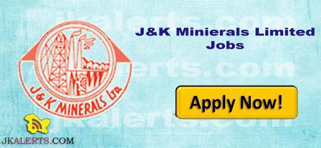 Govt Jobs in Jammu and Kashmir Minerals Limited