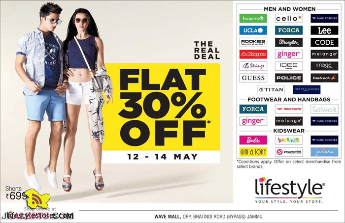 Lifestyle The Real Deal Flat 30% off