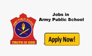 Army Public School, APS, Miran Sahib Jobs, APS Recruitment 2019,APS Teaching and Non-Teaching Jobs, Private Jobs Updates.
