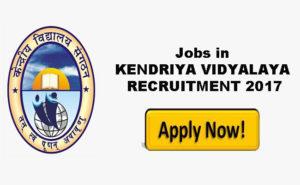 KENDRIYA-VIDYALAYA-recruitment