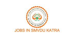 SMVDU jobs Recruitment 2021.