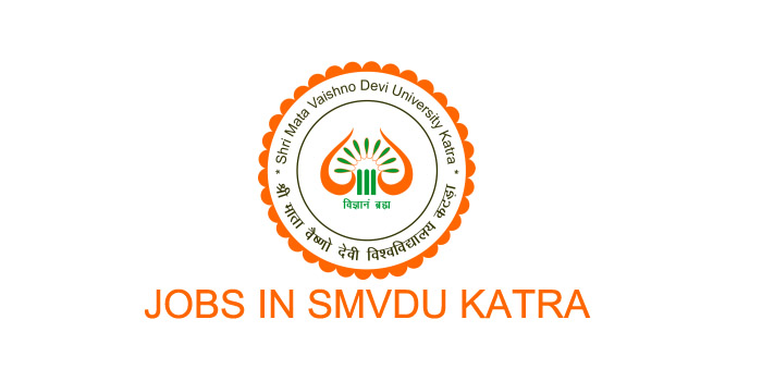 SMVDU jobs Recruitment 2021.