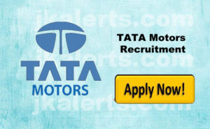 Jobs in AM TATA Motors Authorised dealership