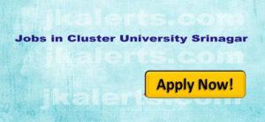 Cluster University of Srinagar