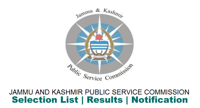 JKPSC Notification