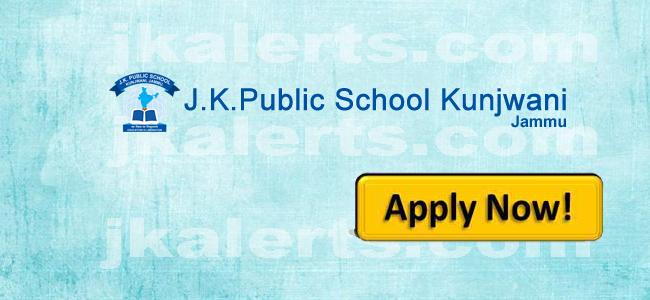jkpublic school Kunjwani Jammu Jobs Jkalets
