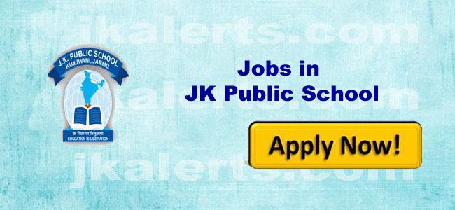 jobs jk public school