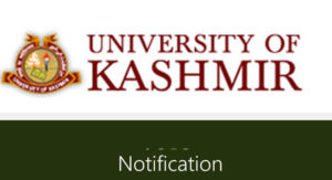 Kashmir University Update
