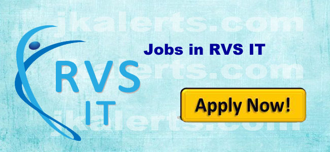 RVS IT-JAMMU JOBS