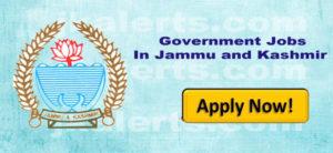 govt jobs in Jammu and kashmirr