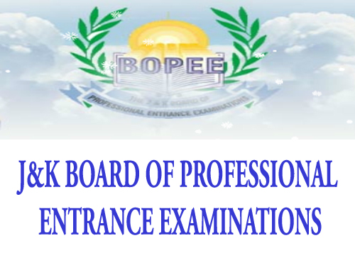 JKBOPEE, JKBOPEE Notification, JKBOPEE updates, JKBOPEE M.Sc. Nursing Provisional Select List, JKBOPEE M.Sc Provisional Select List, J&K BOPEE M.Sc Provisional  Selection list, Jammu and Kashmir  Board of Professional Entrance Examinations Provisional  Selection list,