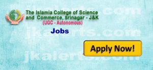 islamia college jobs