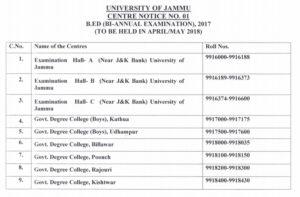 jammu-university-centre notice