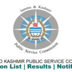 JKPSC Jobs Notification 2018 | J&K Forest Department
