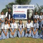 Rabindranath Tagore Jayanti solemnizes in Jammu Sanskriti School, Jammu