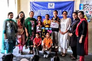 Poem Recitation held at Jammu Sanskriti School, Jammu
