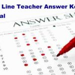 Unofficial Answer Key for JKSSB General line Teacher