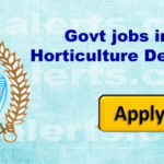 Govt jobs in J&K Horticulture Department