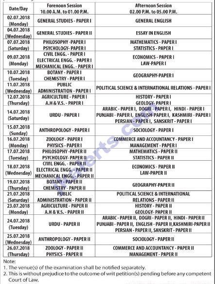 jkalerts jkpsc KAS Date sheet