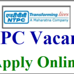 NTPC Jobs Recruitment 2021