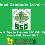 Strategies & Tips to Prepare SSC CGL Exam 2018 | Crack CGL Exam 2018