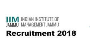 IIM-Jammu-Recruitment-2018