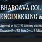 Bhargava college of engineering and technology, BCET Recruitment 2018, various posts