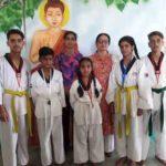 Jammu sanskriti school, Jammu won 6-medals in 9th North zone taekwondo championship-2018