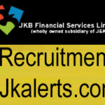 JK BANK Financial Services Limited,  JKBFSL Recruitment