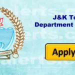 J&K Tourism Department Recruitment 2018