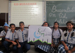 INVIOLABILITY AND SOLEMNITY MARKED EID CELEBRATIONS AT JAMMU SANSKRITI SCHOOL, JAMMU