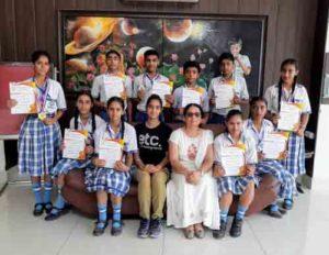 Jammu Sanskriti School, Jammu got Medals in Sahodaya Interschool Karate Championship-2018.