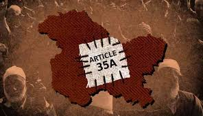 Supreme Court has adjourned the hearing on Article 35-A