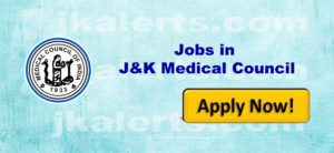 jobs in J&K Medical Council