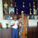 Jammu Sanskriti School, Jammu clinches Gold Medal in Inter-District Speedball Championship