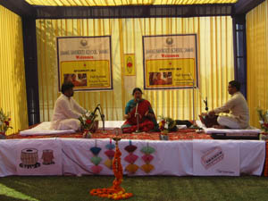 Era of Indian classical music recreated in Jammu Sanskriti School