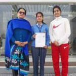 Jammu Sanskriti School, Jammu participated in 64 th National School Games