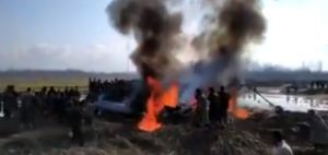 A military aircraft has crashed in Jammu & Kashmir's Budgam; More details awaited