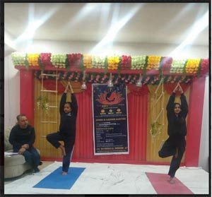 Jammu Sanskriti School, Jammu, Yoga Competition