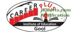 Teaching Staff required, Career Plus Institute of Education, Ramban
