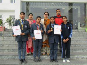 Jammu Sanskriti School, Jammu brought laurels in State athletics Championship