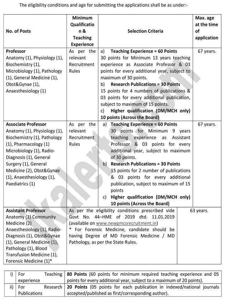 New Govt Medical College GMC Doda Jobs recruitment 2019
