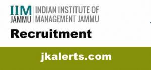 IIM-Jammu-Recruitment