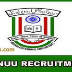Maulana Azad National Urdu University MANUU Recruitment 2019.