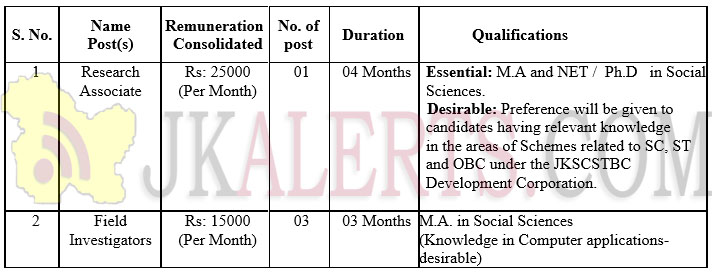 central university of Jammu Jobs Recruitment 2019