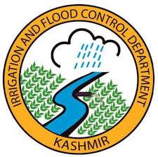 Kashmir Irrigation,Flood Control Department, Gauge Reading, 10 pm.