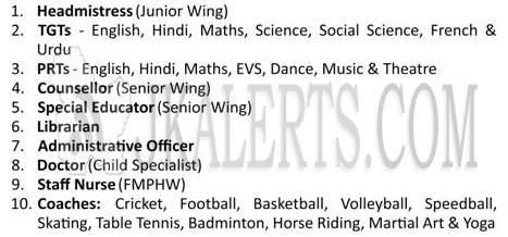 DPS Nagbani Jobs Recruitment 2019 various posts.