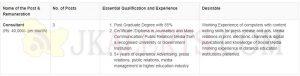 IGNOU Jobs Recruitment 2019 Consultant Jobs.