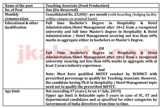 ihm Srinagar Jobs Updates