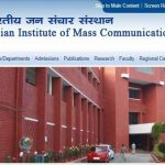 Indian Institute of Mass Communication, IIMC Jobs, IIMC Recruitment 2019, Govt jobs, Delhi Jobs,Professor, Associate Professor, Assistant Professor